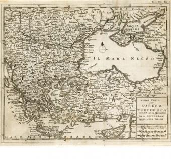 Nuova carta dell'Europa Turchesca