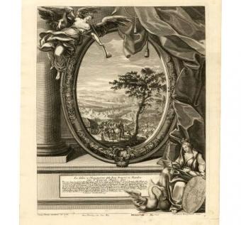 Il successo delle elettione di sua Maestà Cesarea, Carlo VI a Francoforte al Meno