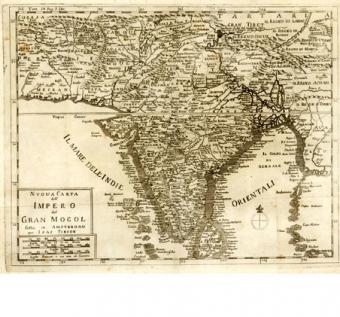 Nuova carta dell'Impero del Gran Mogol