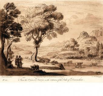 Paesaggio con bestiame